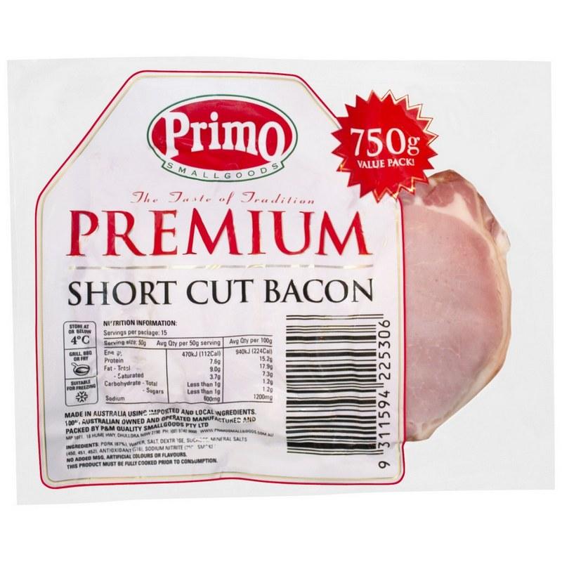750g Shortcut Bacon