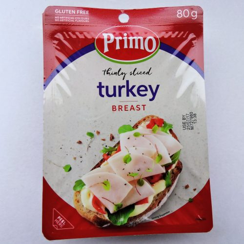 Thinly sliced Turkey Breast 80g