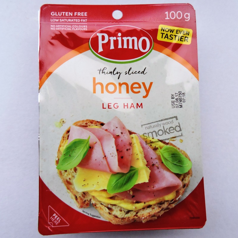 Thinly Sliced Honey Leg Ham 100g