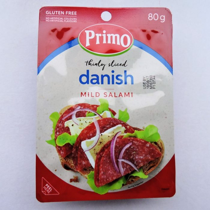 Thinly Sliced Danish Mild Salami