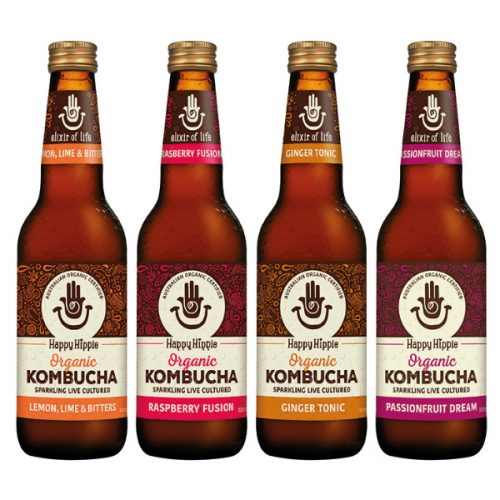 Happy Hippie Kombucha