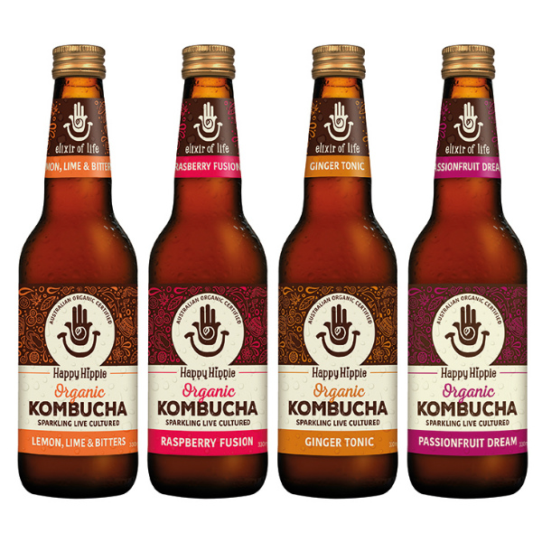 Happy Hippie Kombucha Wholesale Suppliers