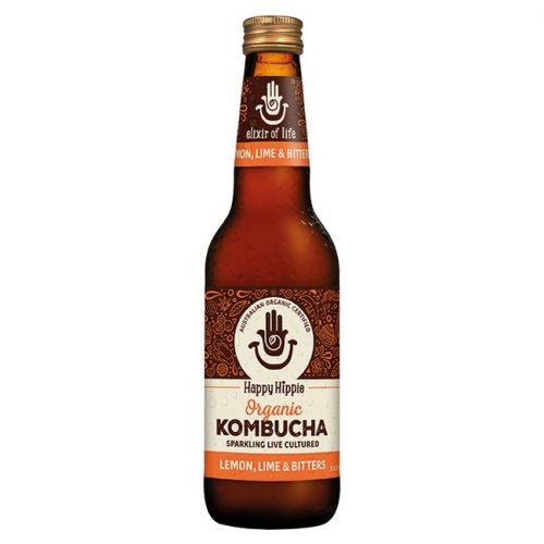 Organic Kombucha - Lemon, Lime & Biiters