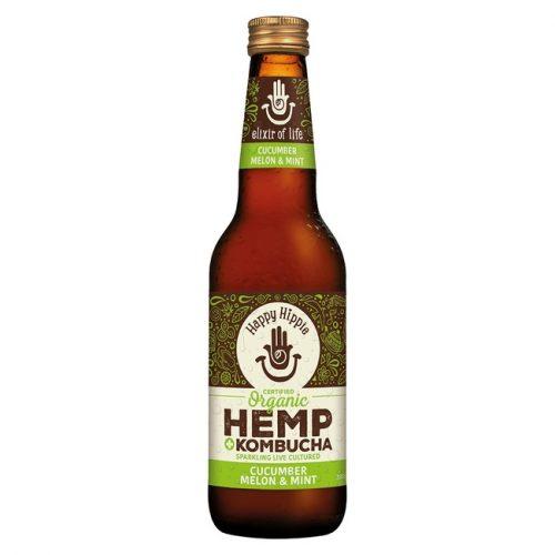 Organic Hemp + Kombucha - Cucumber Melon & Mint