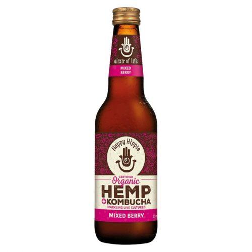 Organic Hemp + Kombucha - Mixed Berry