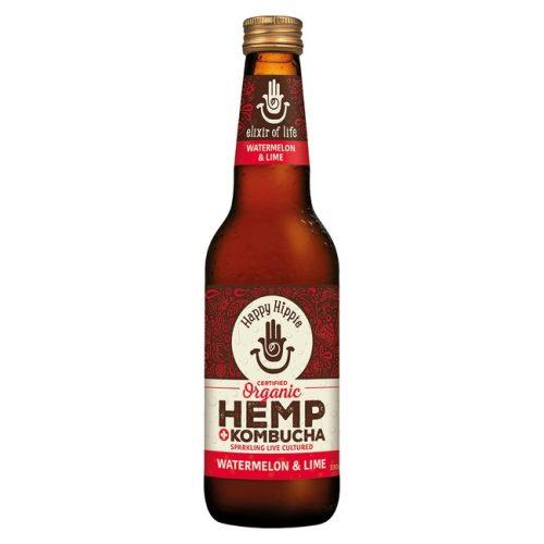 Organic Hemp + Kombucha - Watermelon & Lime