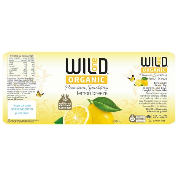Wild Organic Lemon Breeze