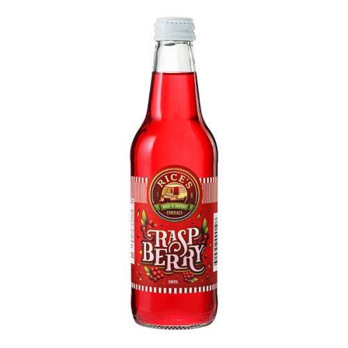 Raspberry - Rice's Back 'O' Bourke Cordial