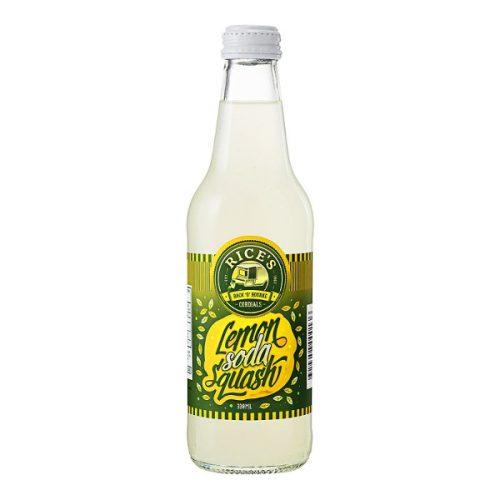 Lemon Soda Squash - Rice's Back 'O' Bourke Cordial