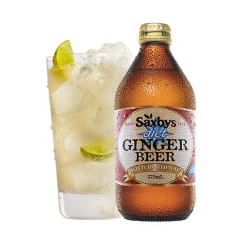 Saxbys Diet Ginger Beer